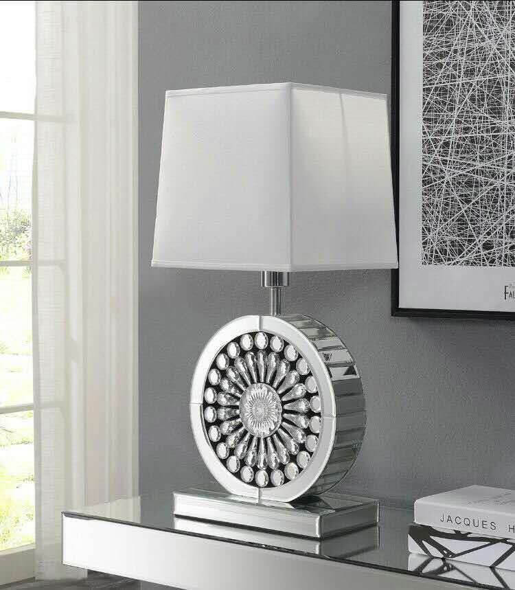Crystal Lamp White