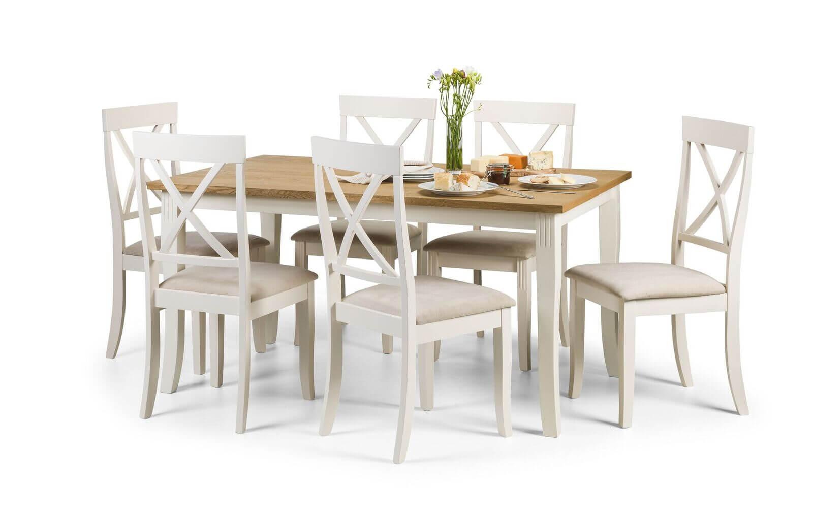 Davenport Dining Set (Table + 6)