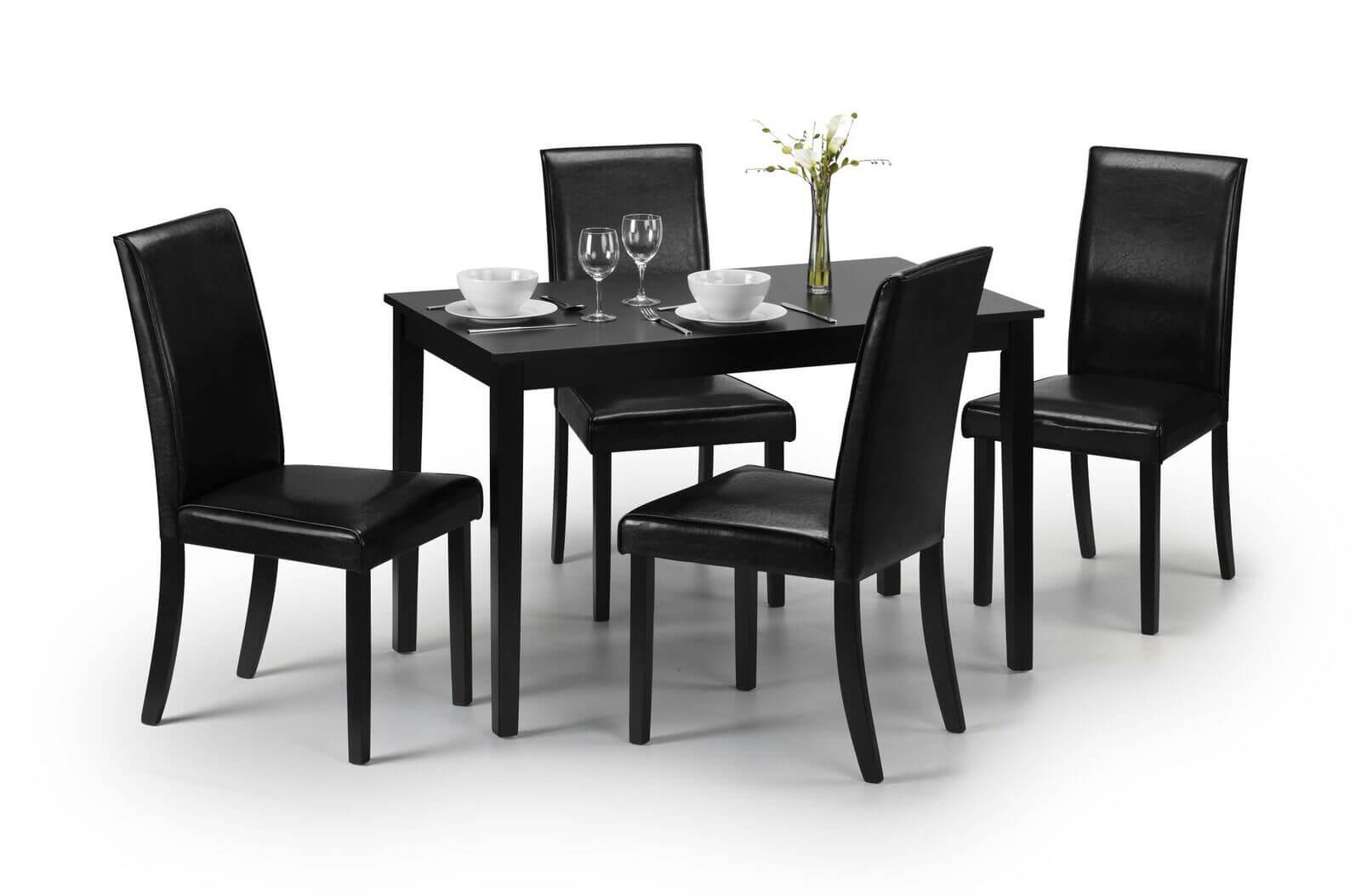 Hudson Dining Set (Table + 4)