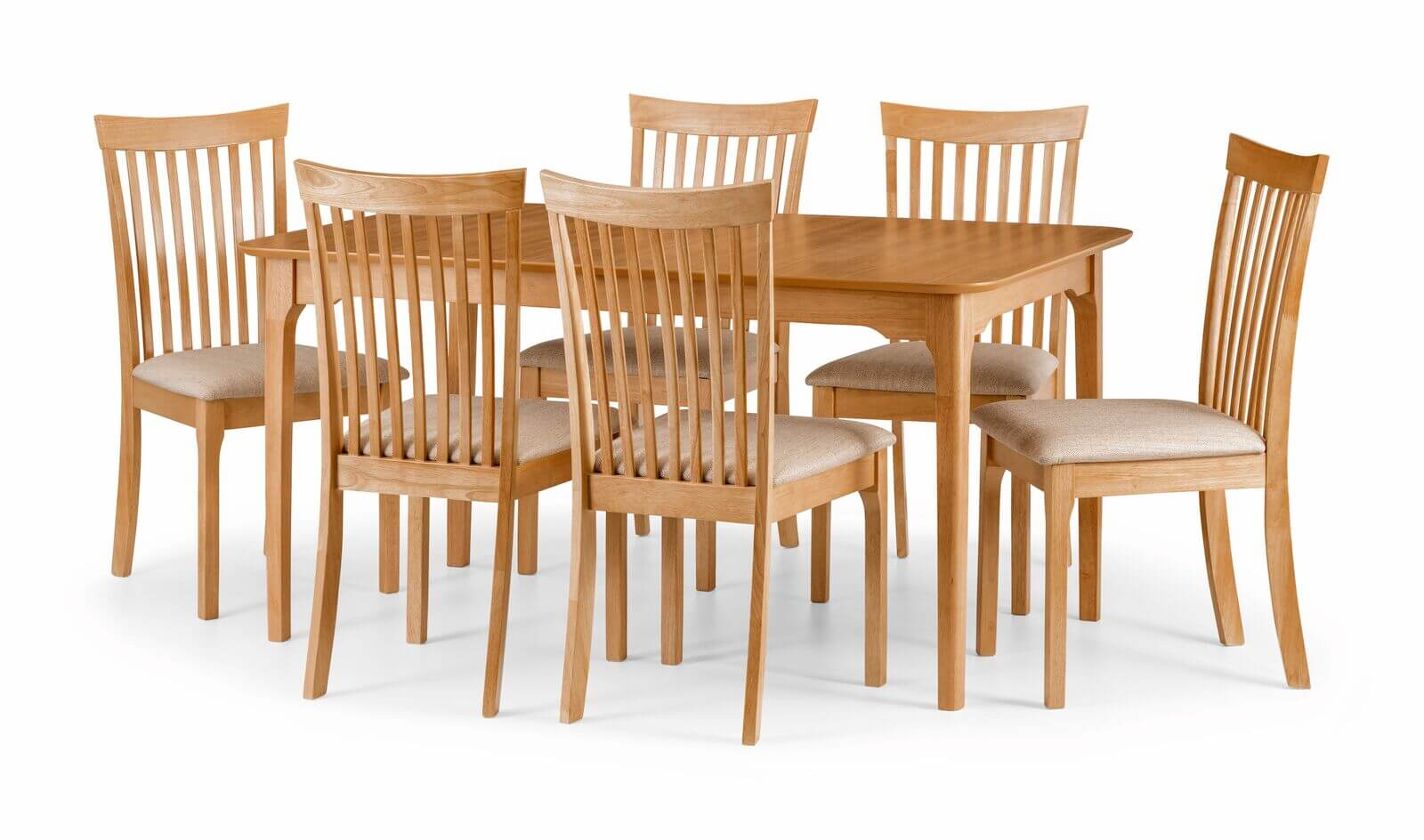Ibsen Dining Set (Table + 6)