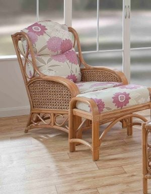 Upton Cane Armchair Natural