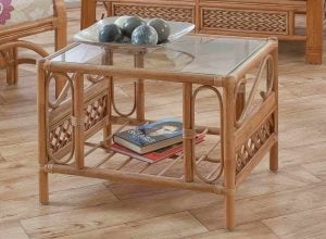 Upton Cane Coffee Table Natural