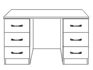 dressing table double