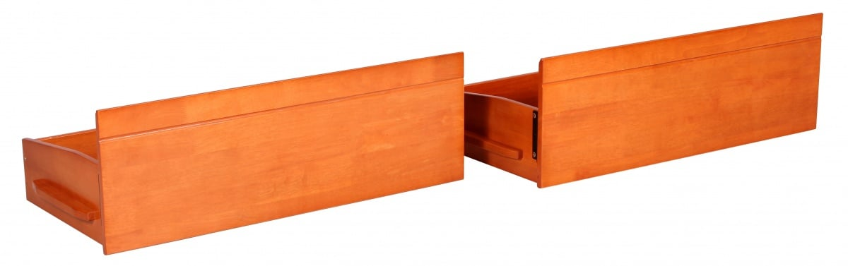 Tripoli Bunk Cherry Underbed Drawers with Castors