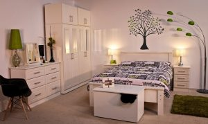 "Boyne 4'6"" Bedroom Set"