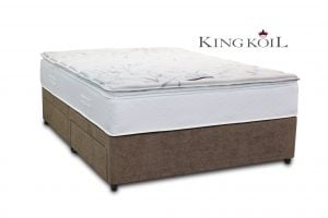"King Koil 4'6"" Jupiter Pillow-top Divan Bed"