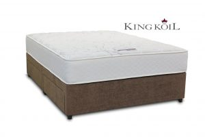 King Koil 5' Mars Pocket Divan Bed