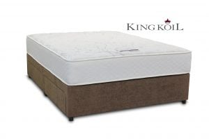 "King Koil 4'6"" Mars Pocket Divan Bed"