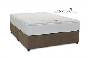 King Koil 5' Mercury Pocket Divan Bed