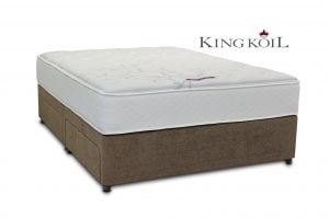"King Koil 4'6"" Mercury Pocket Divan Bed"