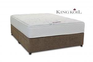 King Koil 6' Mercury Pocket Divan Bed