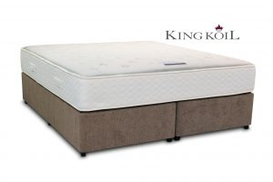 King Koil 6' Saturn Pocket Divan Bed