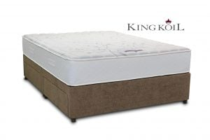 "King Koil 4'6"" Venus Divan Bed"