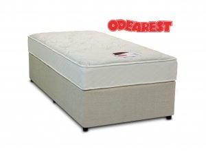 "Odearest 4'6"" Lilac Divan Bed"