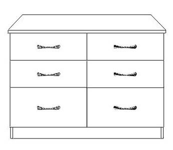 Blackwater 6 Drawer Chest