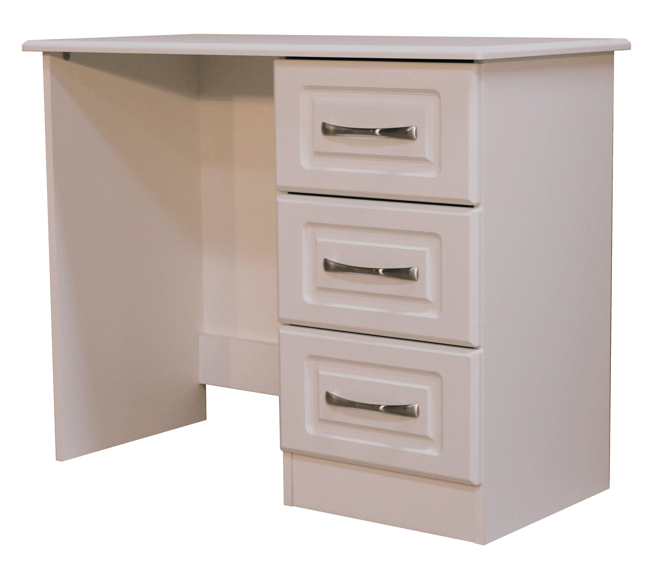 Avoce White Single Dressing Table