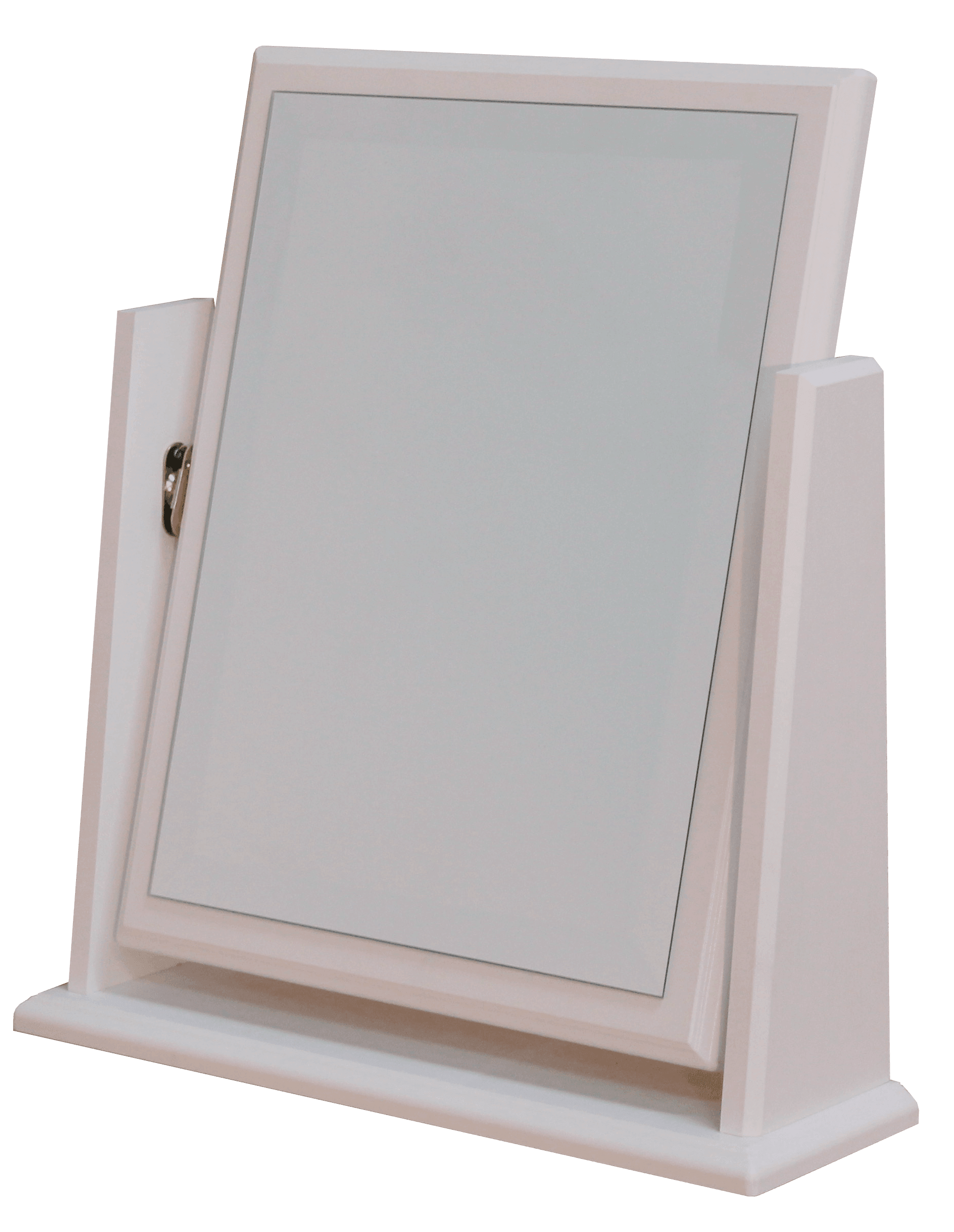 Avoca White Swivel Mirror