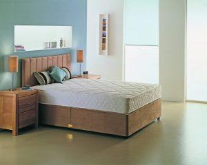Bronze 4' Divan Bed