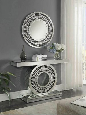 Crystal Mirror and Console