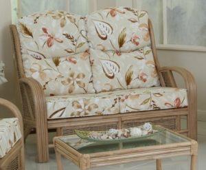 Cuba 2 Seater Cane Sofa