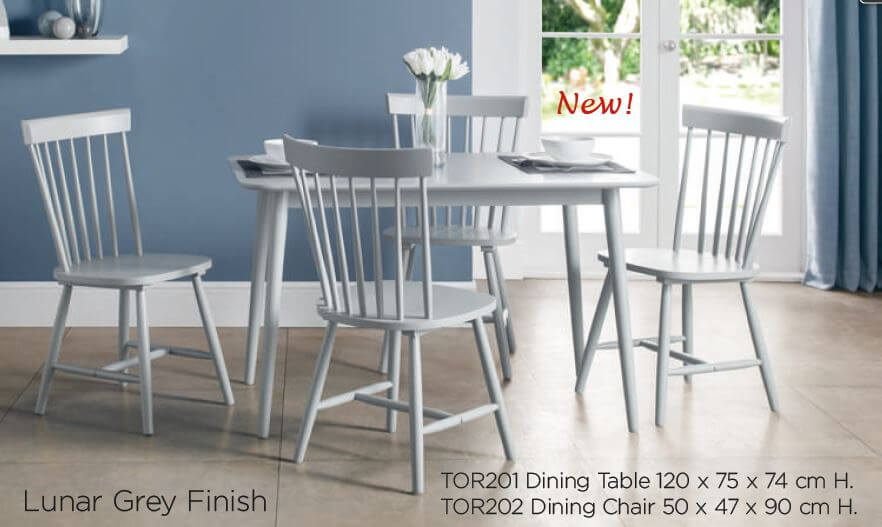 Stamford Dining Set (Table + 4)