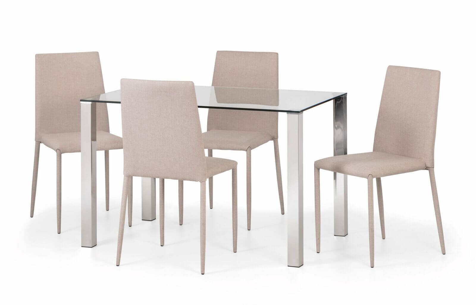 Enzo Dining Set (Table + 4 Jazz Chairs)