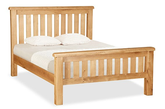 "Salisbury 4'6"" Slatted Bed"