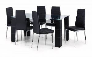 Greenwich Dining Set (Table + 6)