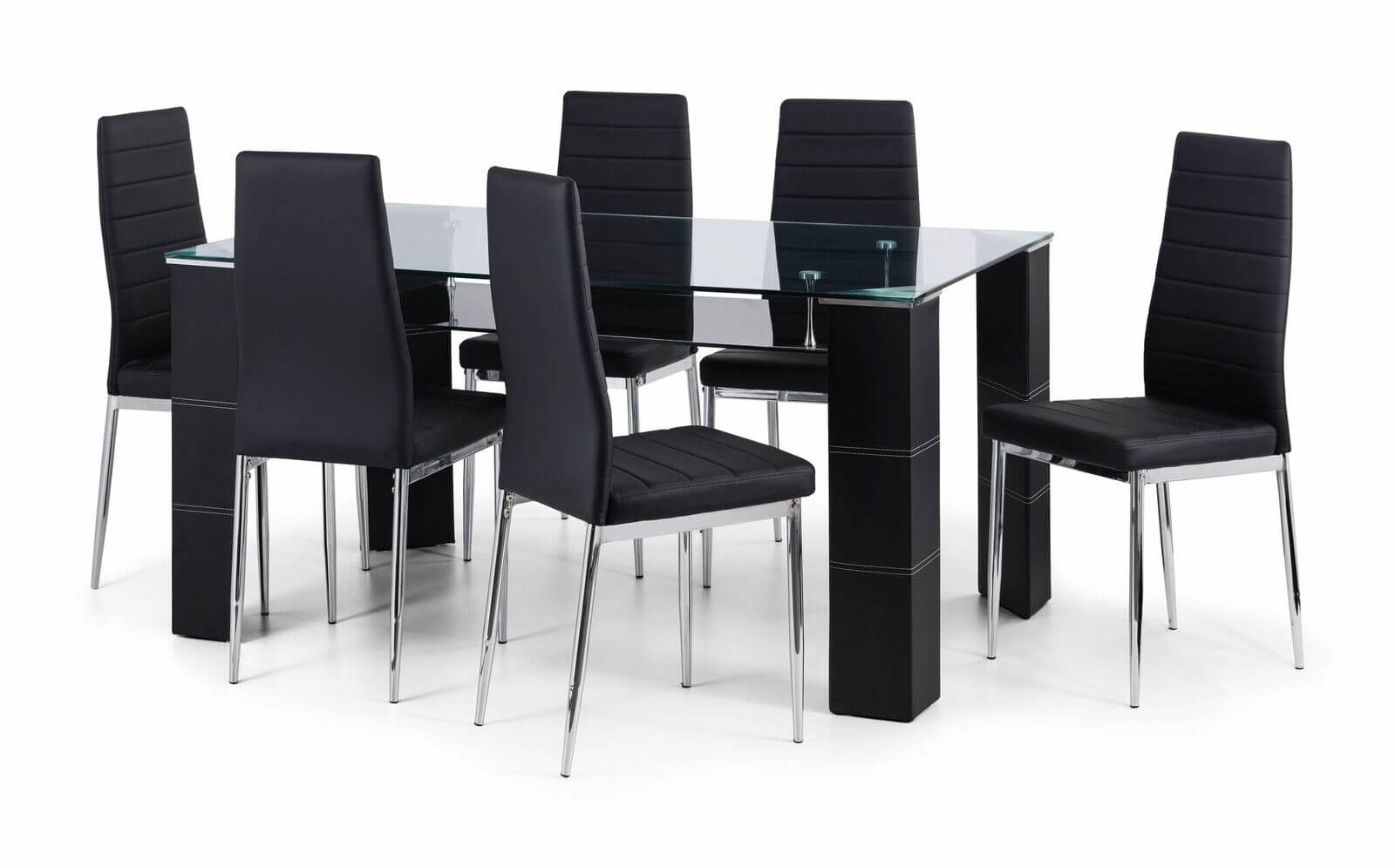 Greenwich Glass Dining Set