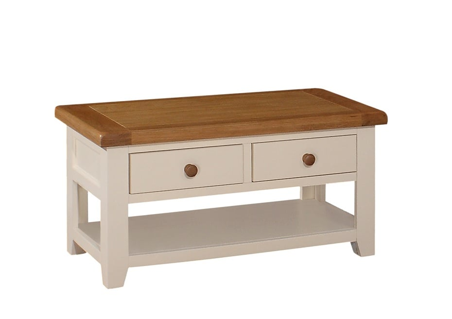 Juliet 2 Drawer Coffee Table