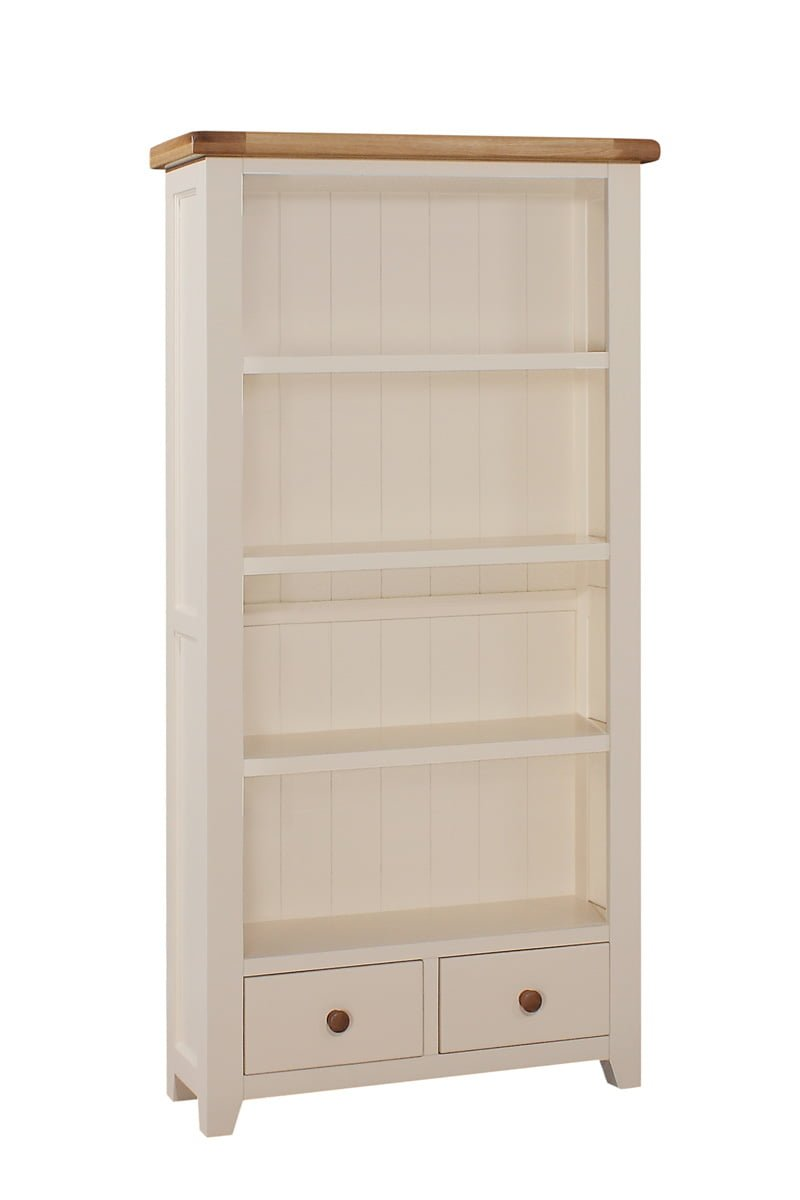 Juliet Tall Bookcase 2 Drawer