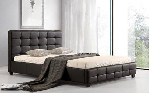 """Lattice 4'6"""" Bed"""