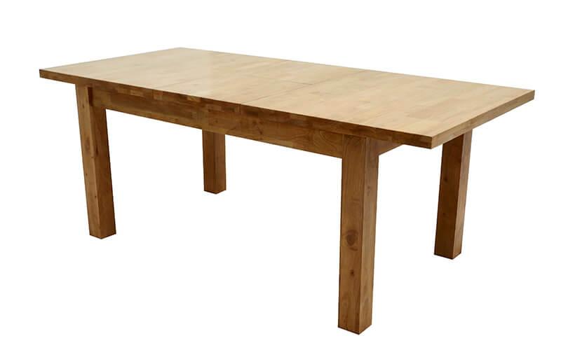 Lissa Oak 4' Extending Table