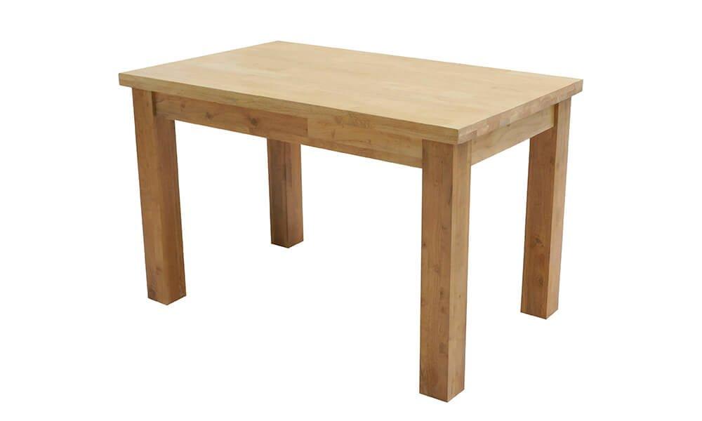 Lissa Oak 4' Fixed Table