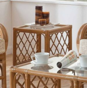 Mali Cane Side Table