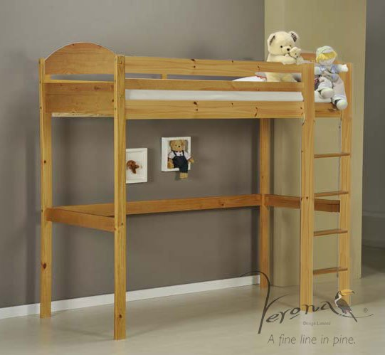 Maximus High Sleeper - Antique Frame Only