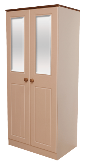 Nile 2 Door Wardrobe with Mirrors