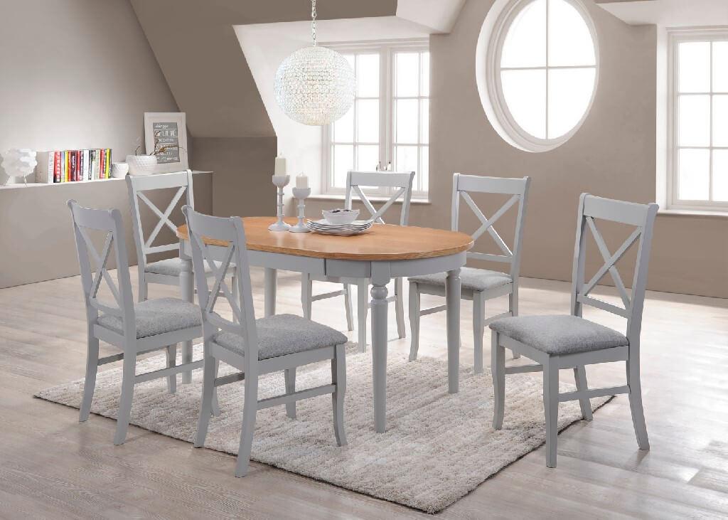 Orly Dining Set - Grey