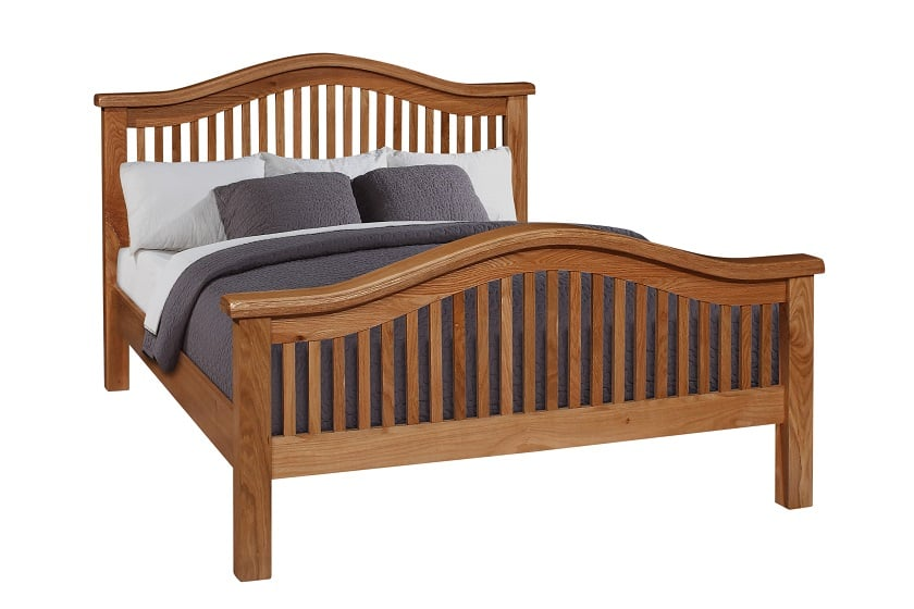 "Oscar 4'6"" Curved Bed"