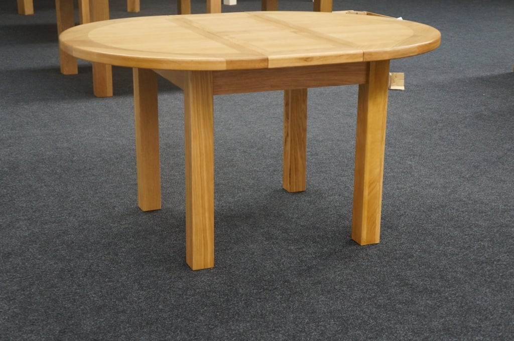 Oscar Round Extending Dining Table