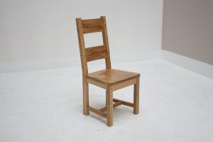 Portland chair with wooden seat