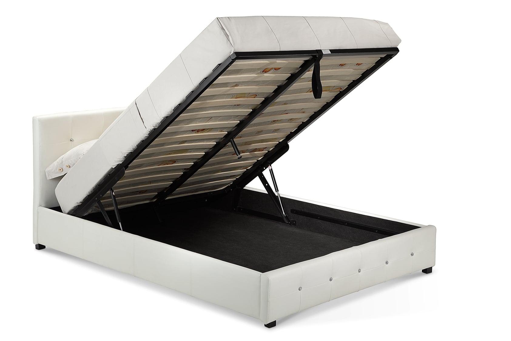 """Quartz 4'6"""" Storage Bed"""