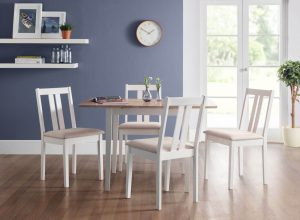 Rufford Dining Set (Table + 4)