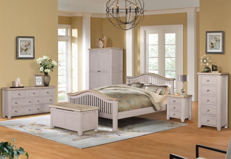 Salou 6' Slatted Bed Set