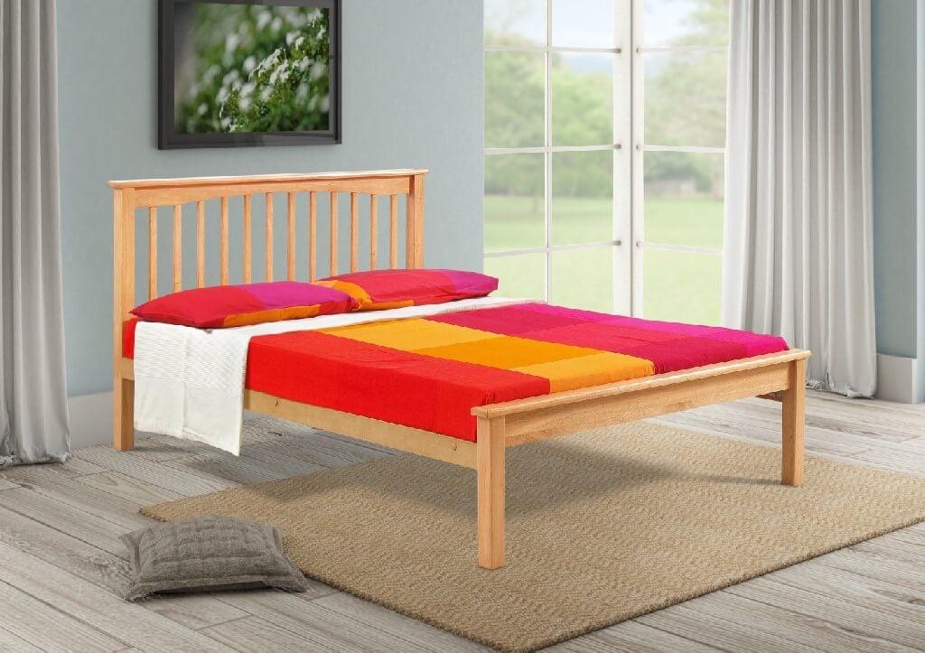 Sandra 4' Bed - Beech