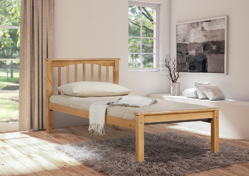 Sandra Single Bed - Beech