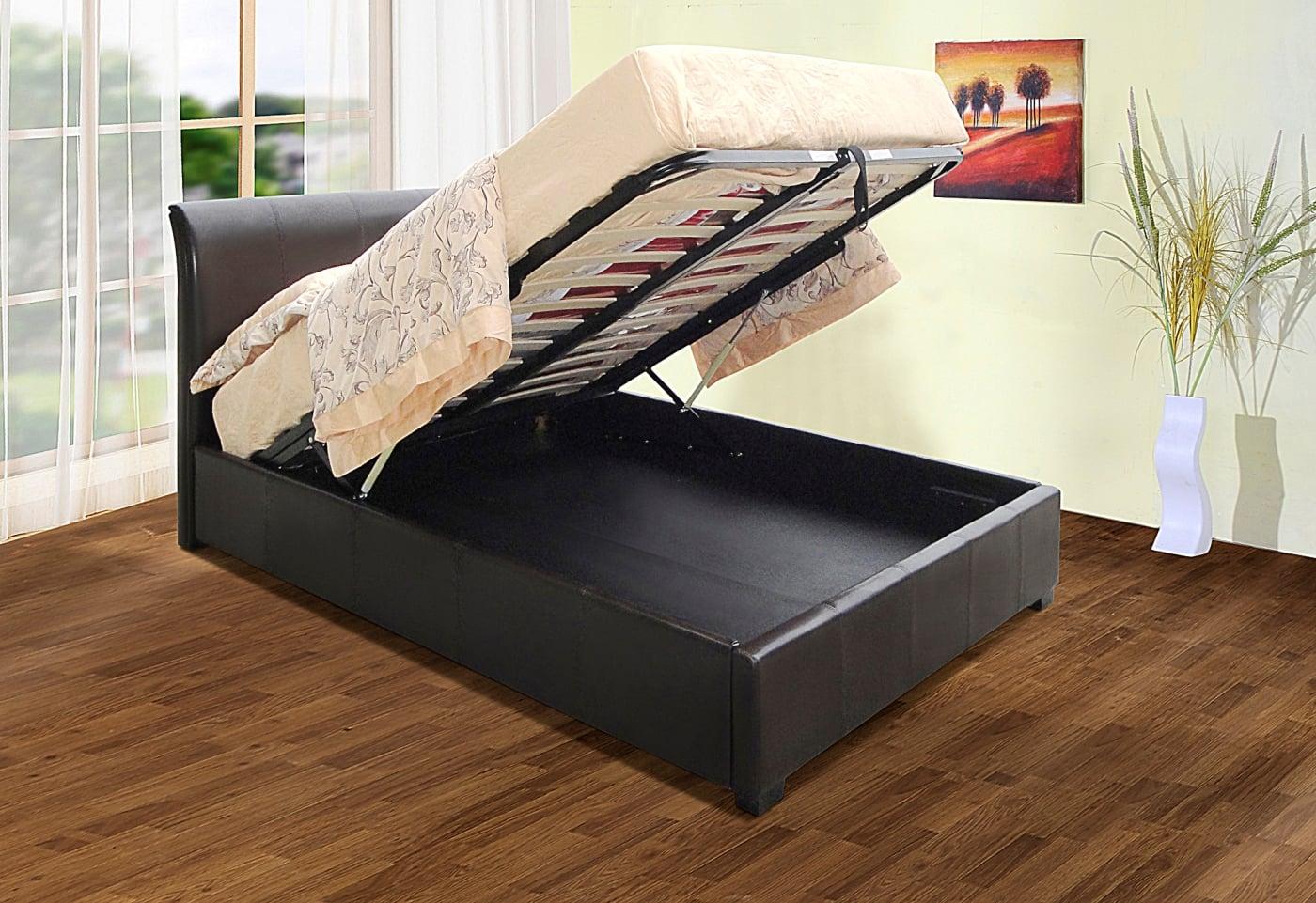 """Savona 4'6"""" Storage Bed"""