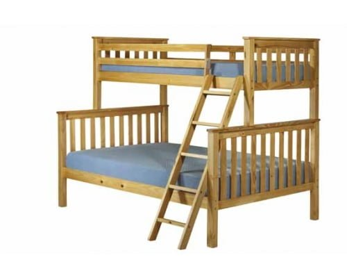 Shaker Honey Pine Triple Bunk