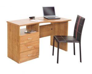 Sorbonne Shaped Desk