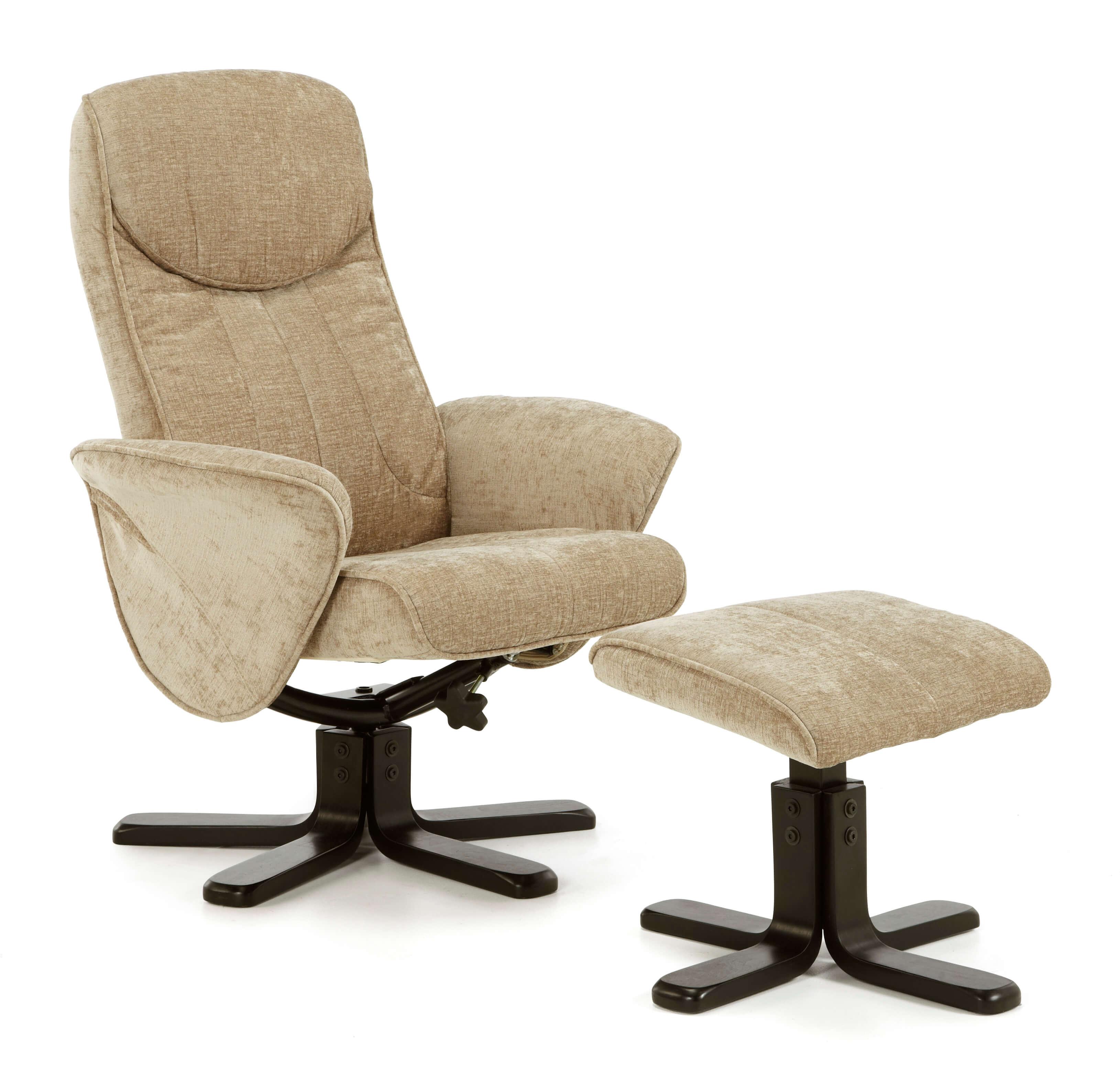 Stavern Swivel Chair Mink Black A